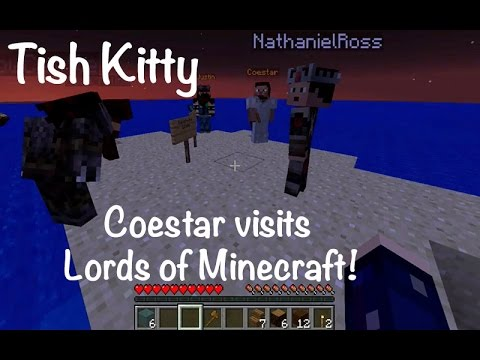 Coestar and Pause Visit Lords of Minecraft